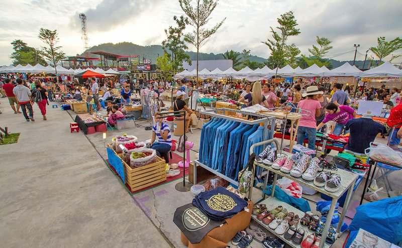 خرید در بازارهای شبانه پوکت
