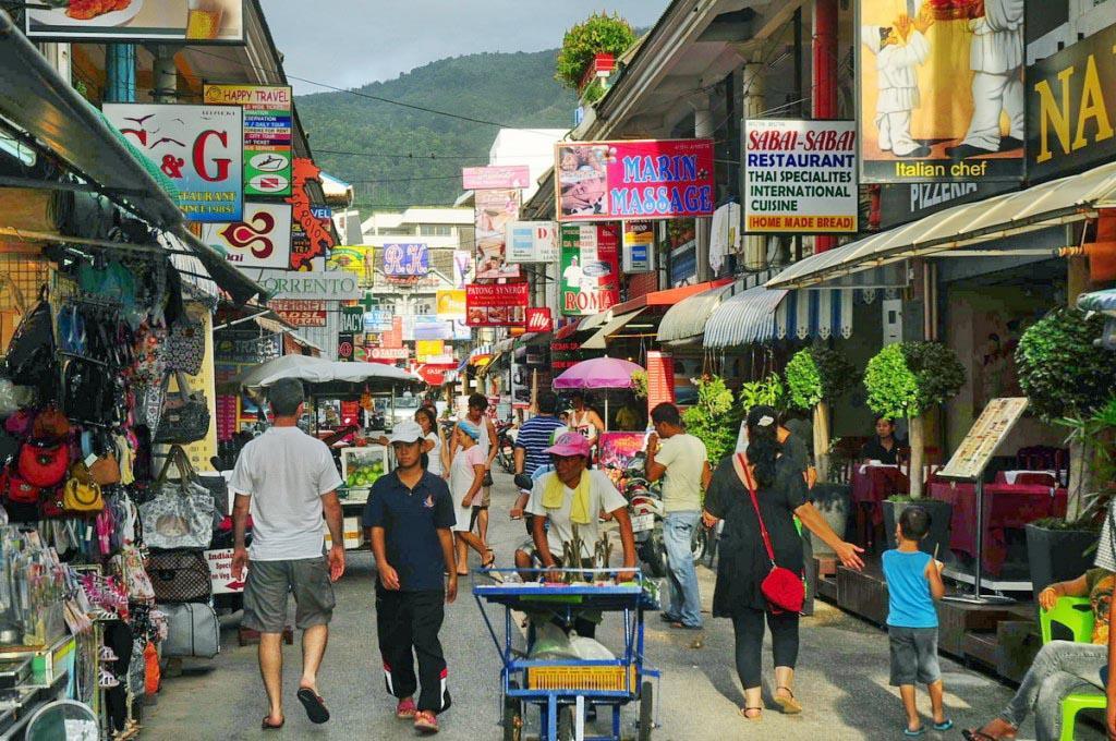 آشنایی با سواحل پاتونگ جزیره پوکت تایلند