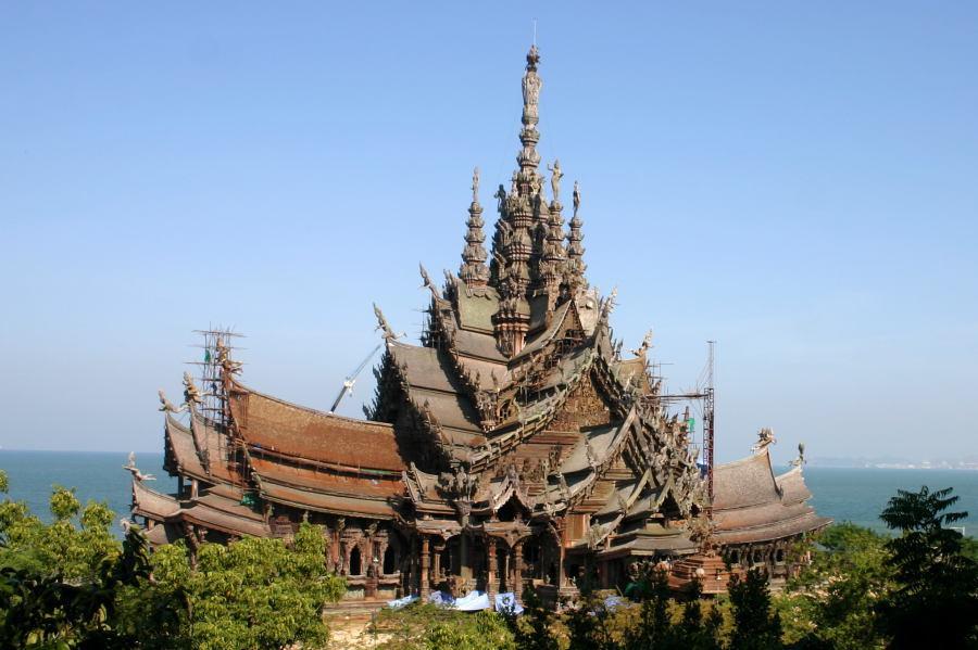 آشنایی با پناهگاه حقیقت پاتایا (the sanctuary of truth) تایلند