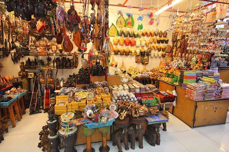 مراکز خرید ساحلی پاتایا تایلند