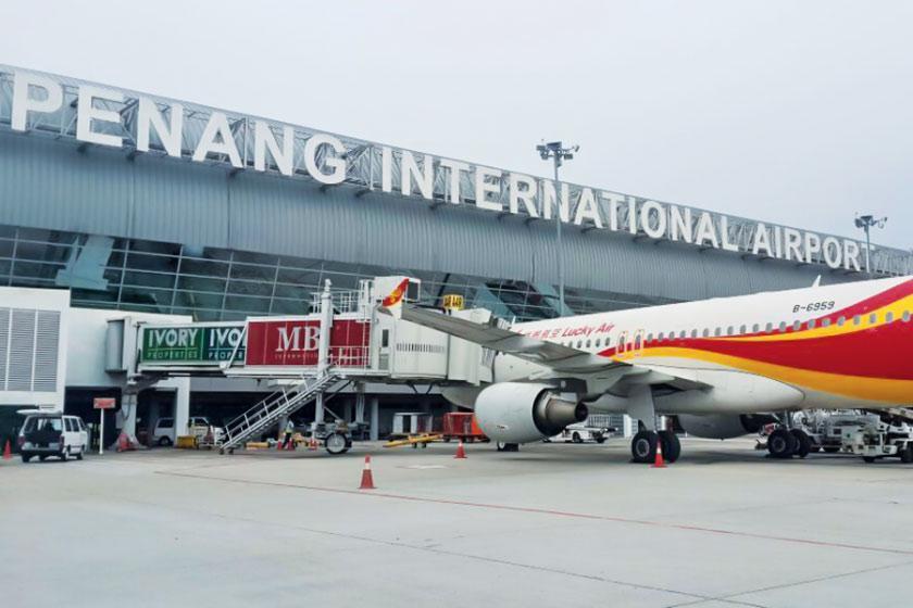 آشنایی با فرودگاه پنانگ در تور مالزی