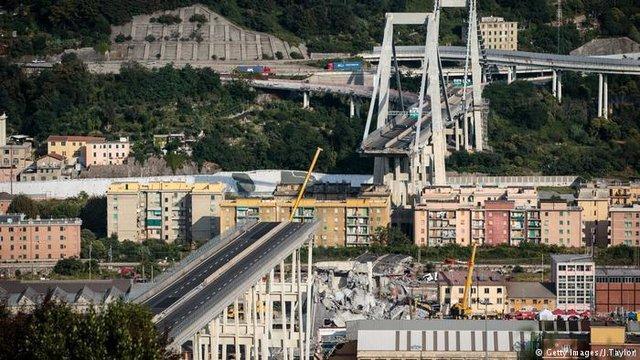 ایتالیا کمک 500 میلیون یورویی سازنده پل جنووا را رد کرد