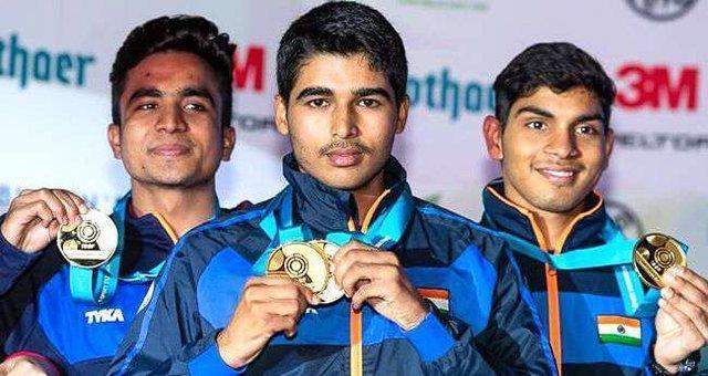 رکوردشکنی نوجوان 16 ساله هندی در تیراندازی بازی های آسیایی جاکارتا