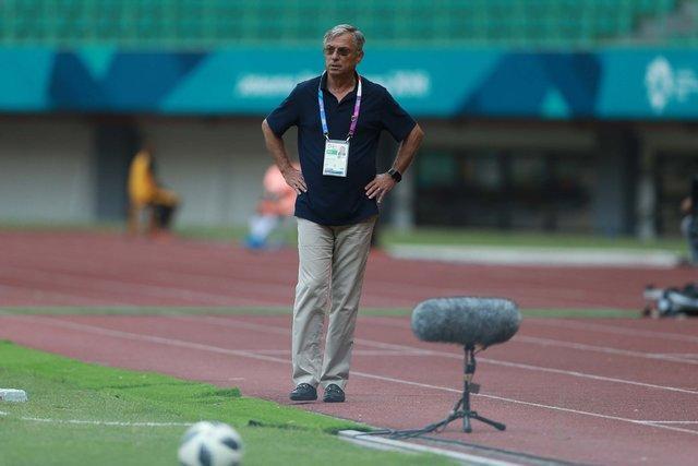 واکنش کرانچار بعد از حذف تیم ملی امید ایران از بازی های آسیایی