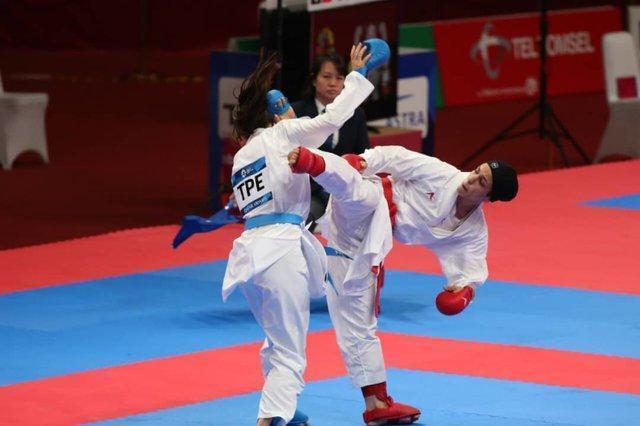 اولین نقره کاراته در بازی های آسیایی، طراوت خاکسار نایب قهرمان شد