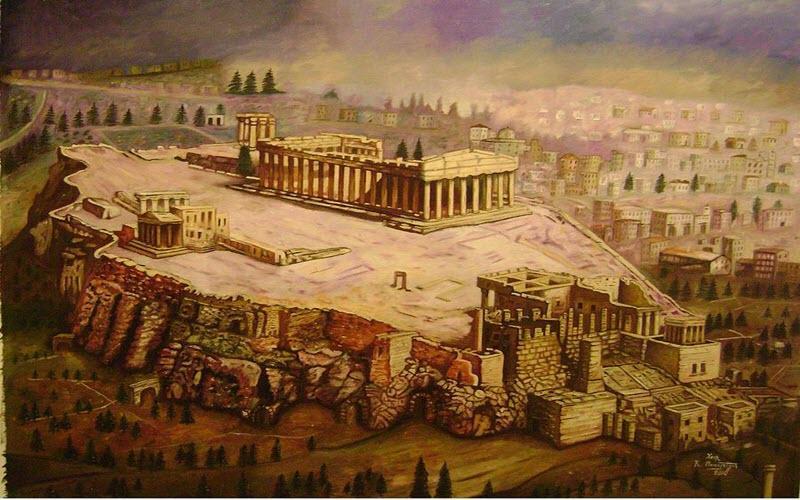 با تاریخچه بنای آکروپلیس در یونان آشنا شوید