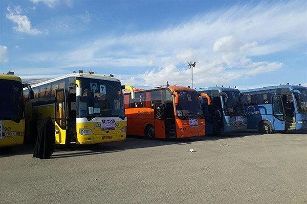 قطعات اتوبوس فراوری داخل در حال ترخیص از گمرک هستند