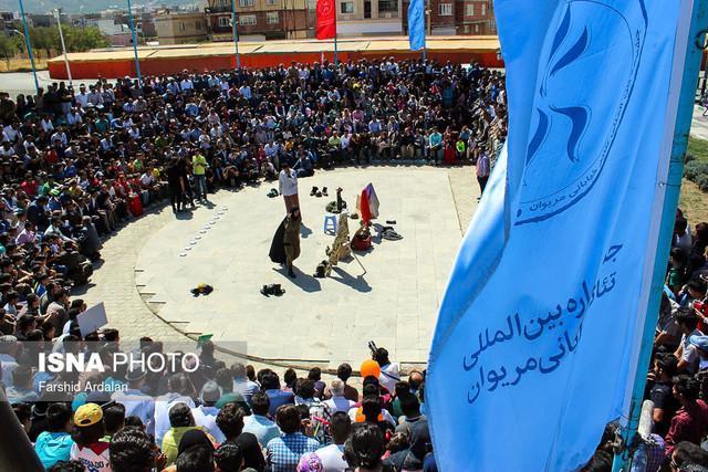معرفی چند برگزیده تئاتر خیابانی مریوان به فجر