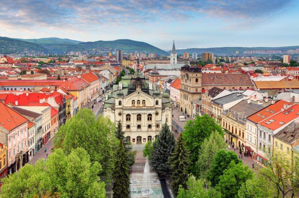 ده چیز برتر در کوشیتس، اسلواکی