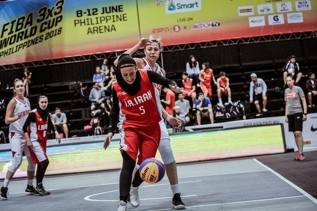 دختران بسکتبال سه نفره ایران عنوان سومی آسیا را از دست دادند