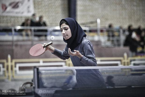 نگاهی بر نتایج دختران پینگ پنگ باز قم در تور نوجوانان و جوانان