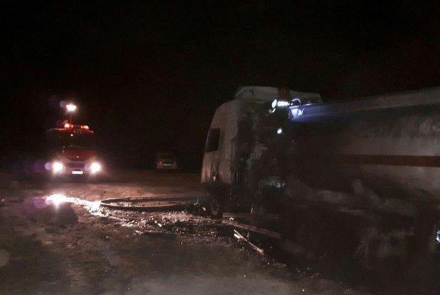 شروع شناسایی اجساد حادثه تصادف اتوبوس نطنز