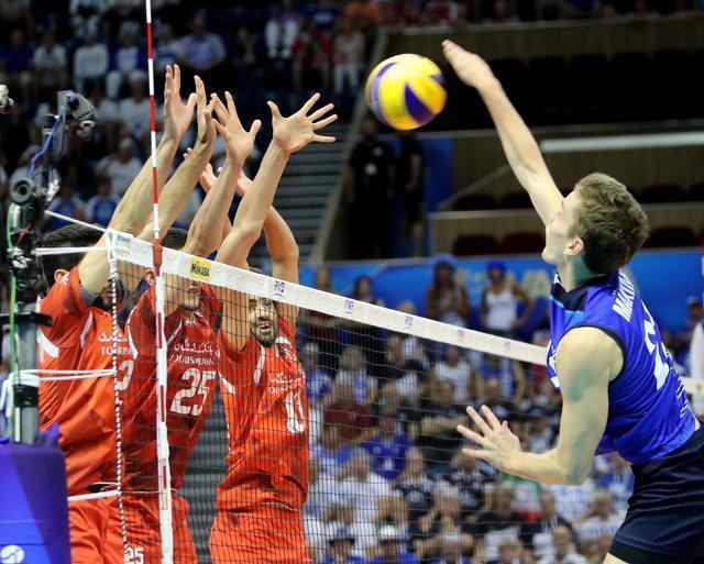 صعود با طعم پیروزی، ایران پیروز ماراتن والیبال برابر فنلاند سخت کوش