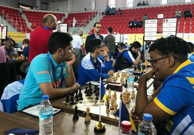 المپیاد جهانی شطرنج، شکست تیم مردان و زنان ایران مقابل چین و جمهوری چک