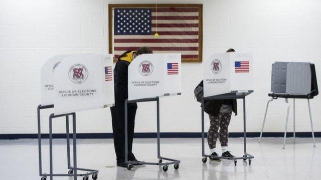 لحظه به لحظه با نتایج انتخابات میان دوره ای آمریکا
