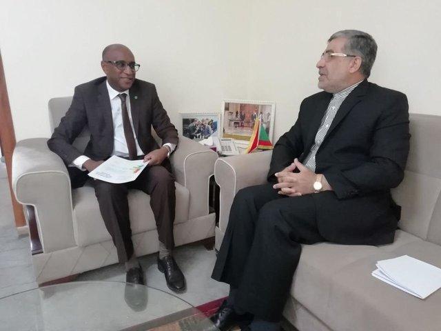 تسلیم دعوت نامه وزیر بهداشت به دو همتای آفریقایی اش برای سفر به تهران