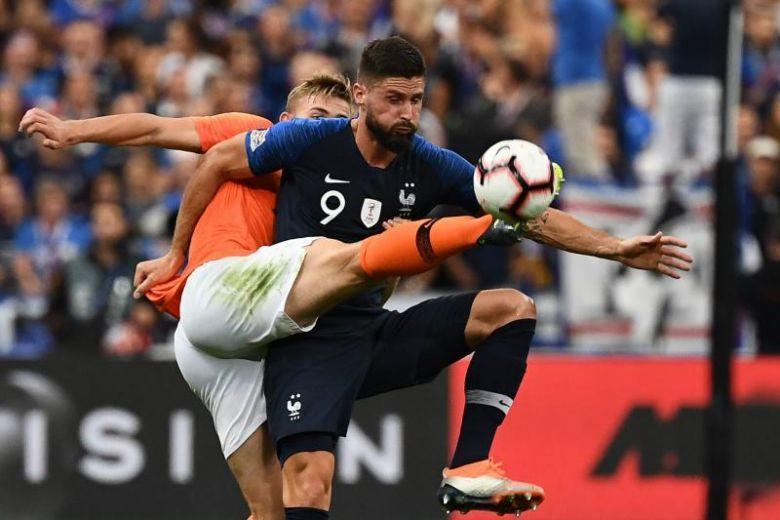 لیگ ملتهای اروپا هلند - فرانسه، تقابل لاله های شکوفا گردیده و قهرمان دنیا در روتردام