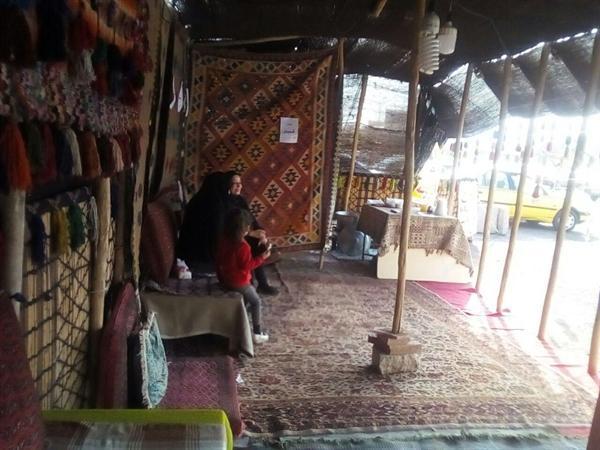 سیاه چادر عشایری در شهر جدید پرند افتتاح شد