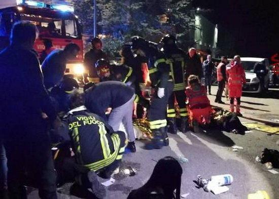 ازدحام جمعیت در ایتالیا قربانی گرفت