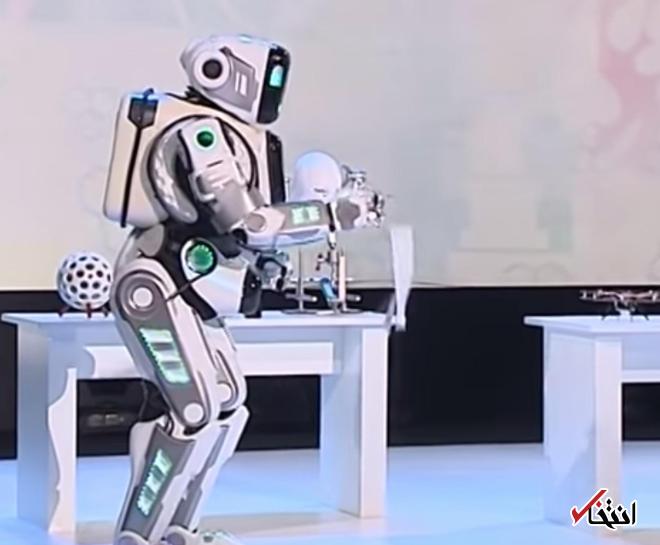 آبروریزی روباتیک در روسیه ، روباتی که انسان از آب در آمد!