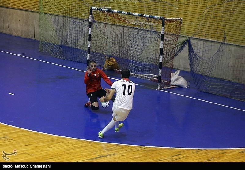 تورنمنت چهارجانبه فوتسال تبریز، تیم ملی ایران مقابل بلاروس از شکست، پیروزی ساخت
