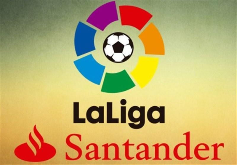 فوتبال دنیا، جدول رده بندی لالیگا در خاتمه هفته پنجم