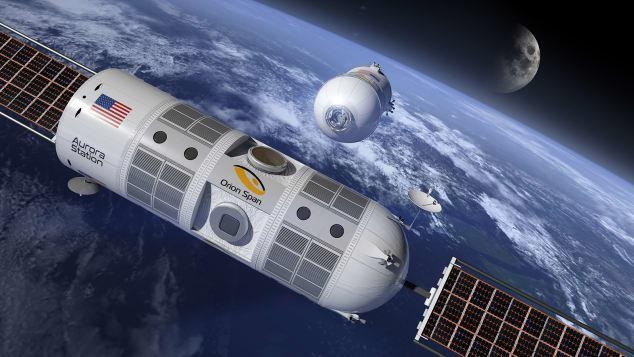 نگاهی به داخل اولین هتل فضایی لاکچری دنیا