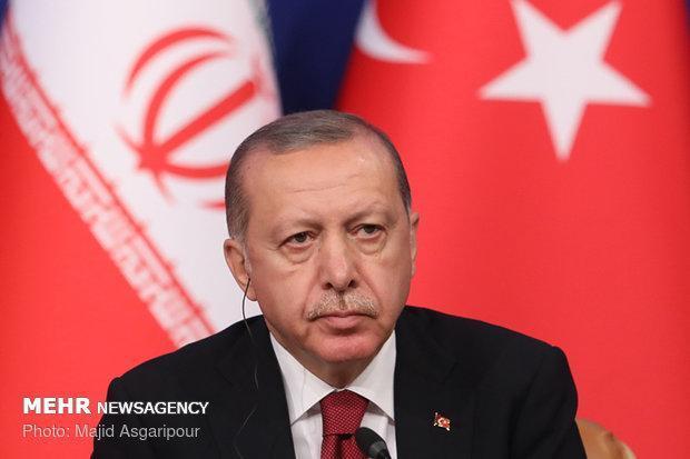 اردوغان: به خرید گاز از ایران با وجود تحریم ادامه می دهیم