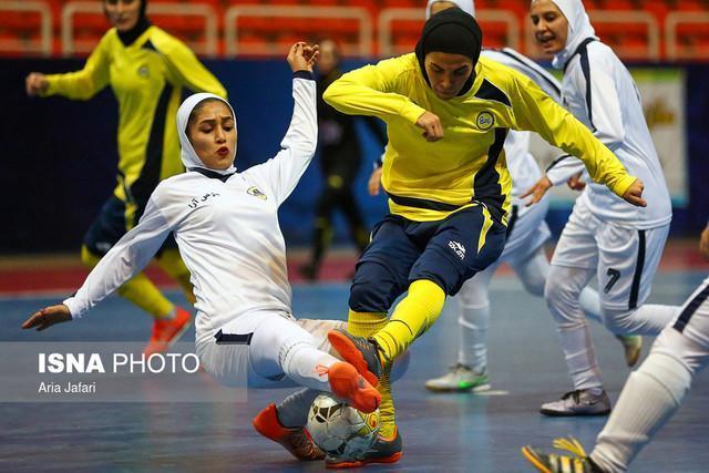 نتایج هفته هشتم لیگ برتر فوتسال بانوان، دربی شیراز مساوی شد