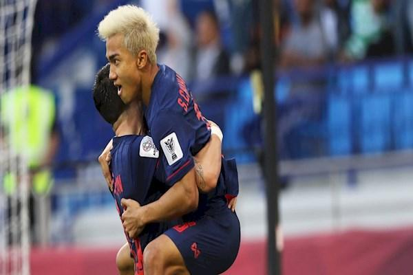 شوک تایلند جواب داد ، اولین برد برای جنوب شرق آسیا