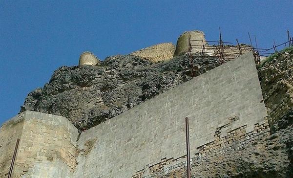عملیات اجرای سیل بند در قلعه تاریخی قهقهه مشگین شهر به اتمام رسید