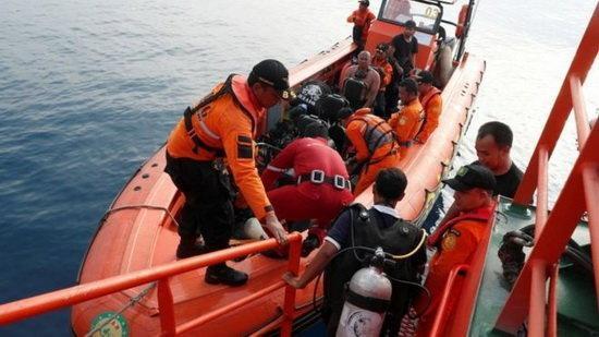 جعبه سیاه هواپیمای حادثه دیده اندونزی پیدا شد