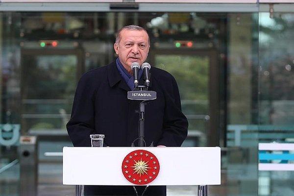 اردوغان: آزادی هیچ فرد و گروهی در دوره من محدود نشده است