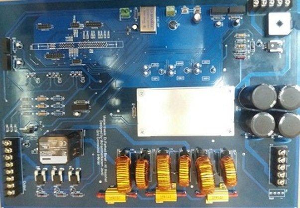 سامانه کنترل برای اینورتر سه فاز متصل به شبکه طراحی شد