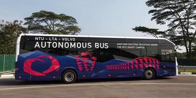 آزمایش اتوبوس های خودران در سنگاپور