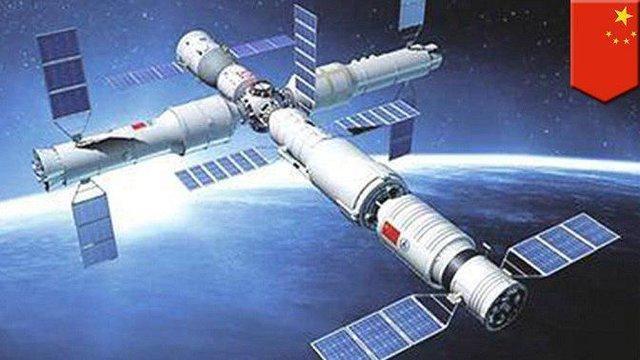 رونمایی چینی ها از ایستگاه فضایی تیانه