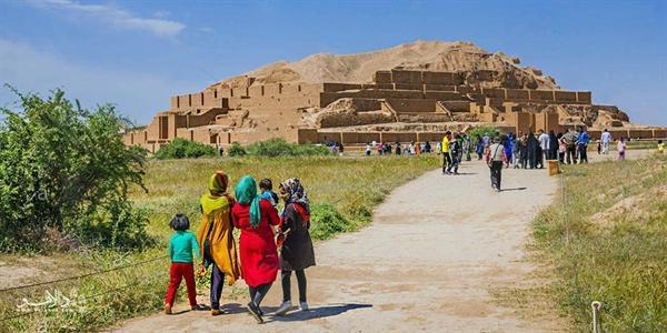 اپلیکیشن راهنمای گردشگران نوروزی در چغازنبیل تهیه می گردد