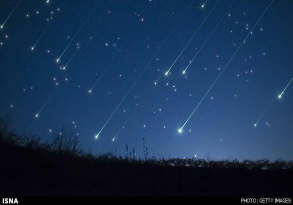 آسمان شامگاهی امشب میزبان شهاب باران ثوری