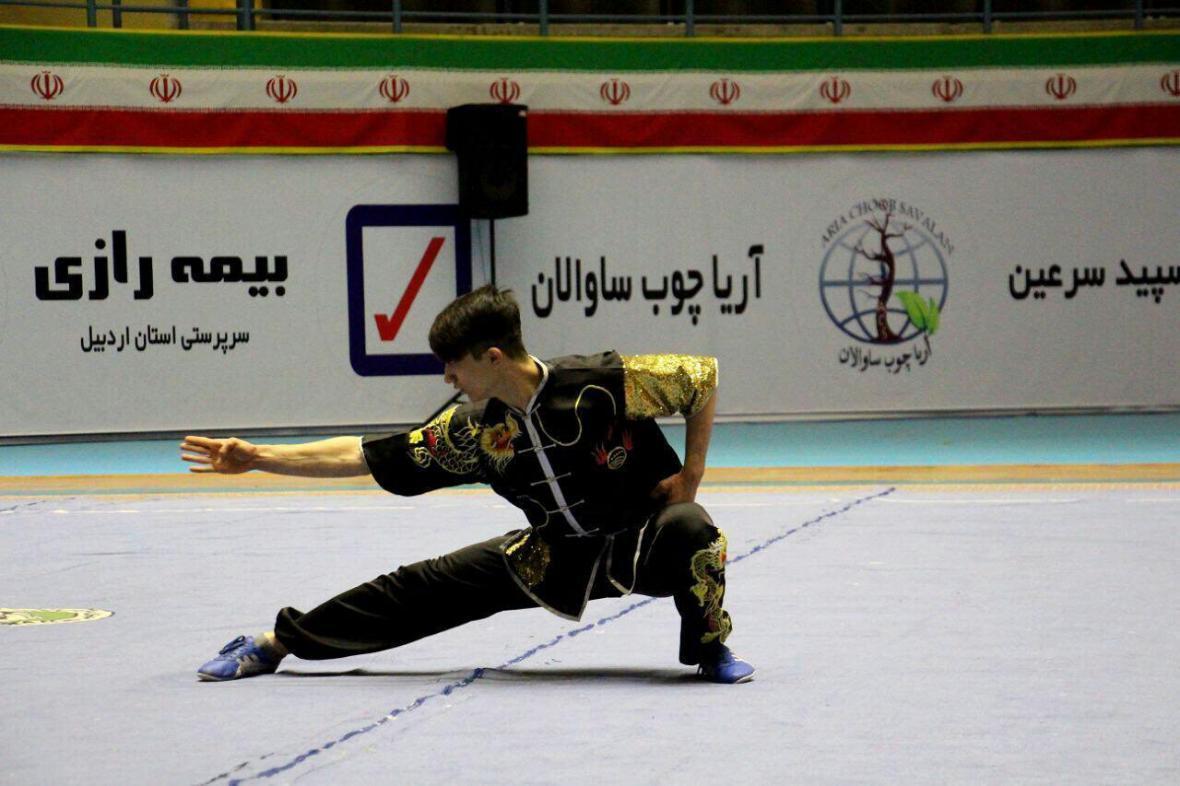 درخشش ووشوکار فارسی در رقابت های قهرمانی کشور
