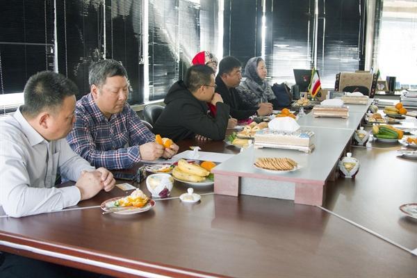 دیدار مدیرکل میراث فرهنگی تهران با جمعی از تورگردانان چین