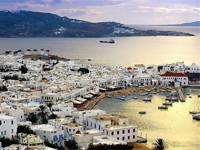 تور جزایر یونان 8 روز (تور آتن 1شب + جزیره سانتورینی 3 شب + جزیره میکونوس 3 شب)