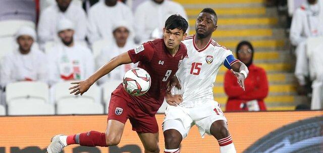 صعود امارات به عنوان صدرنشین با تساوی برابر تایلند
