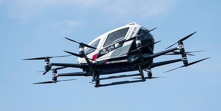 تاکسی پرنده در آلمان با ظرفیت 5 سرنشین