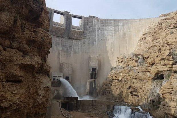 حجم آب مخزن سد رئیسعلی دلواری دشتستان در شرایط بحرانی است