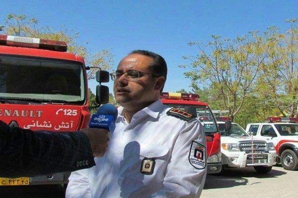 اطفاء حریق 295 منزل مسکونی در کرمان، 744 نفر نجات یافتند