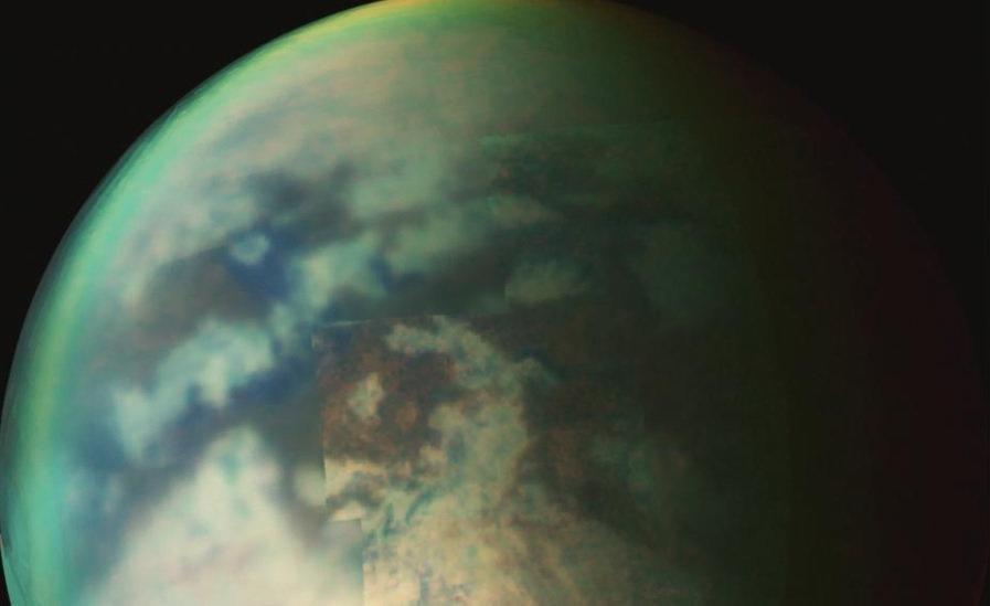 تایتان، قمر زحل؛ تنها نقطه ای بیرون از زمین که بارش باران دارد