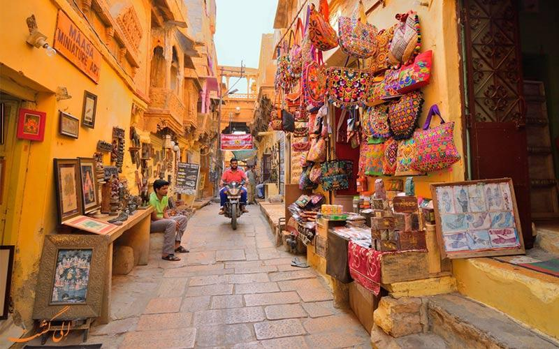 آشنایی با شهر طلایی جیسالمر در راجستان هند