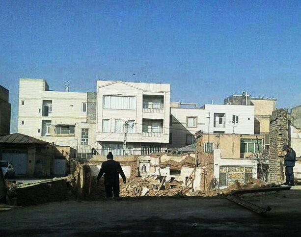 خانه میرمیران در قزوین تخریب شد