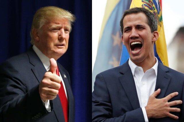 تماس تلفنی ترامپ با رهبر مخالفان ونزوئلا