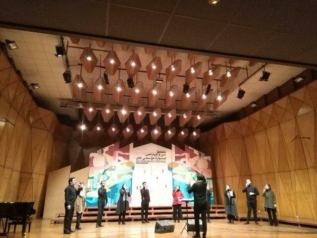 مسائل اولین اجرای شب پنجم رودکی در جشنواره موسیقی فجر